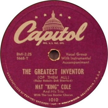 nat-king-cole-the-greatest-inventor-of-them-all-capitol-78